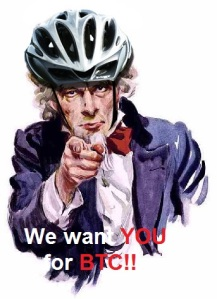 We want YOU for BTC!